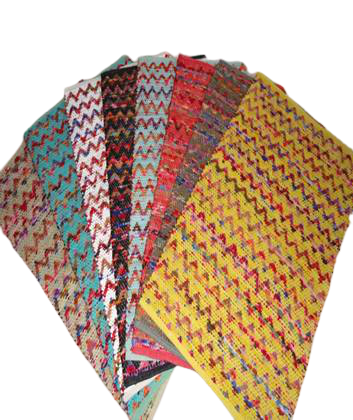Authentic Cotton Chindi Mats/ Rugs 5' X 8' ABCM01009