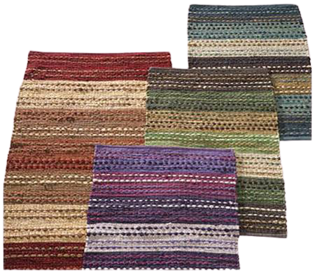 Cotton Chindi Rug 5' X 8' ABCC05026
