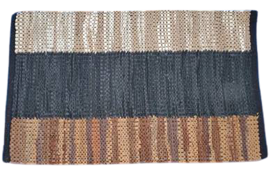 Authentic Seby Leather Rug Traditional Hand-Knotted for Indoor Area 5' X 8' ABCR02979