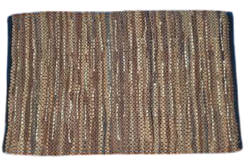 Seby Leather Rug Traditional Hand-Knotted for Indoor Area 5' X 8' ABCR02984