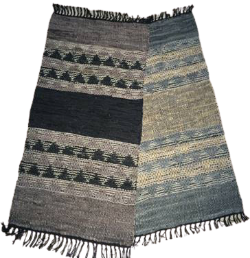 Authentic Cotton Chindi Mats/ Rugs 5' X 8' ABCM01036