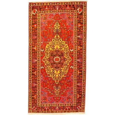 "Authentic Persian Rug bakhtiar Traditional Style Hand-Knotted Indoor Area Rug with Natural Wool and Cotton  8'6""  X  5'3"" ABCR02498"
