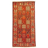 "Authentic Persian Rug bakhtiar Traditional Style Hand-Knotted Indoor Area Rug with Natural Wool and Cotton  10'2""  X  5'0"" ABCR02508"