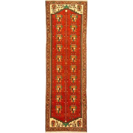"Authentic Persian Rug saveh Traditional Style Hand-Knotted Indoor Area Rug with Natural Wool and Cotton  2'9""  X  8'10"" ABCR02133"