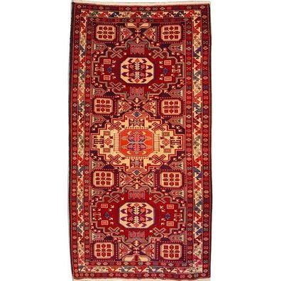 "Authentic Persian Rug tabriz Traditional Style Hand-Knotted Indoor Area Rug with Natural Wool and Cotton  8'9""  X  4'7"" ABCR02337"