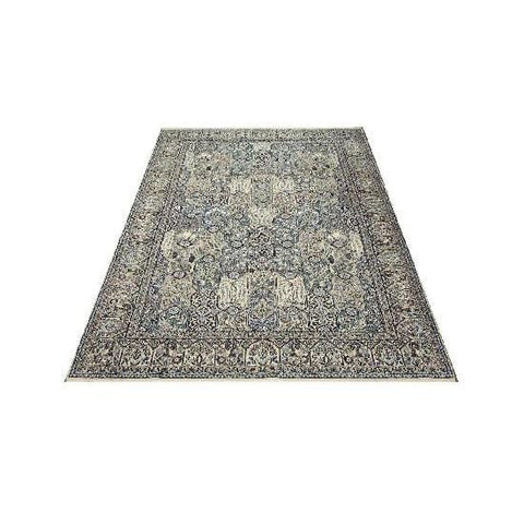 "Authentic Persian Rug nain Traditional Style Hand-Knotted Indoor Area Rug with Natural Wool and Cotton  10'7""  X  6'6"" ABCR02424"