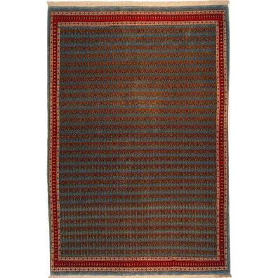 "Authentic Persian Rug sarough Traditional Style Hand-Knotted Indoor Area Rug with Natural Wool and Cotton  6'6""  X  4'7"" ABCR02762"