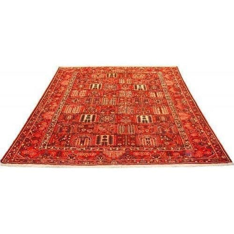 "Authentic Persian Rug bakhtiar Traditional Style Hand-Knotted Indoor Area Rug with Natural Wool and Cotton  12'4""  X  9'8"" ABCR02764"