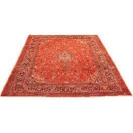 "Authentic Persian Rug mahal Traditional Style Hand-Knotted Indoor Area Rug with Natural Wool and Cotton  13'1""  X  9'8"" ABCR02915"