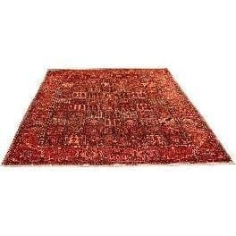 "Authentic Persian Rug bakhtiar Traditional Style Hand-Knotted Indoor Area Rug with Natural Wool and Cotton 13'1""  X  10'0"" ABCR02939"