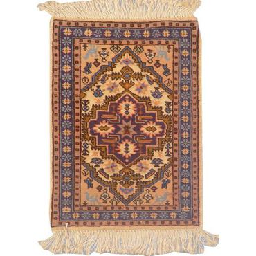 "Authentic Persian Rug ardabil Traditional Style Hand-Knotted Indoor Area Rug with Natural Wool and Cotton  1'9""  X  1'3"" ABCR02230"