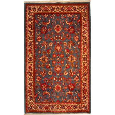 "Authentic Persian Rug nain Traditional Style Hand-Knotted Indoor Area Rug with Natural Wool and Cotton  7'1""  X  4'3"" ABCR02920"