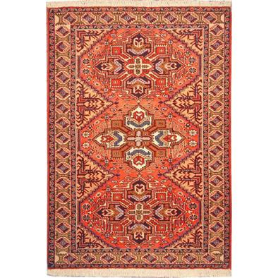 "Authentic Persian Rug ardabil Traditional Style Hand-Knotted Indoor Area Rug with Natural Wool and Cotton  5'1""  X  3'5"" ABCR02109"