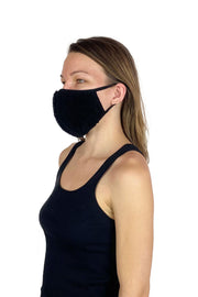 Fuzzy Mask Black