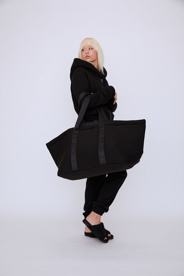 Cloud Pillow Shopper Black