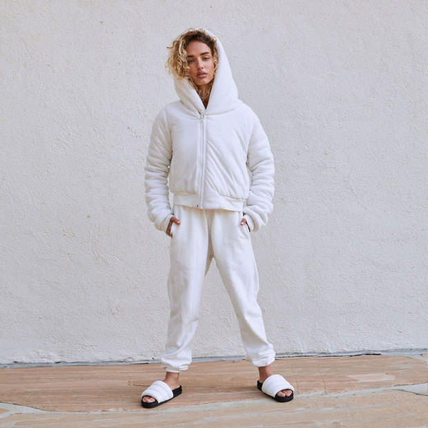 Cloud Sweats White