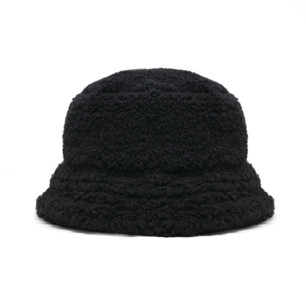 Fuzzy Bucket Black