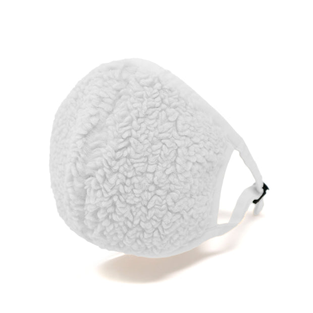 Fuzzy Mask White