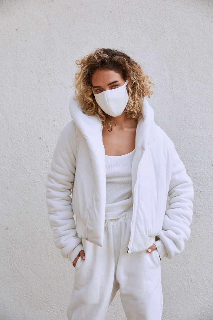 Cloud Jacket White