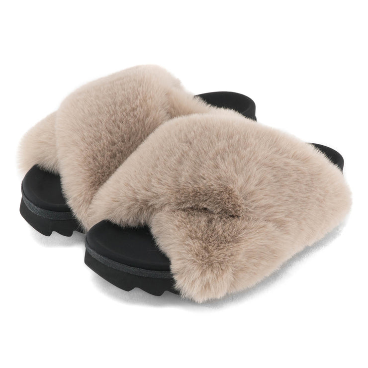 CLOUD NUDE SLIPPERS
