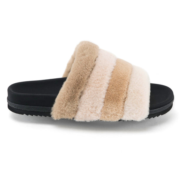 CREAM PRISM SLIPPERS