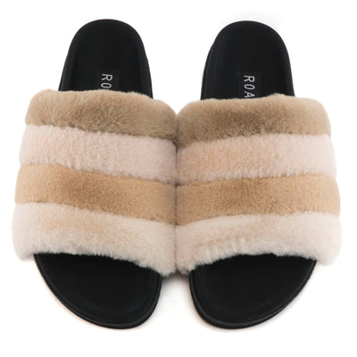 CREAM PRISM SLIPPERS - pre order available