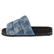 THE PUFFY DENIM with SHIBORI CLOUD WASH