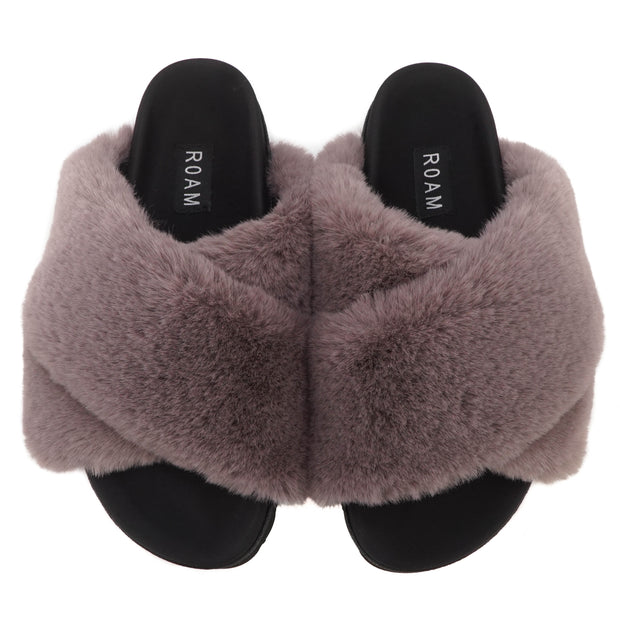 CLOUD MAUVE SLIPPERS