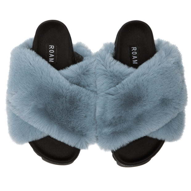 CLOUD BLUE SLIPPERS