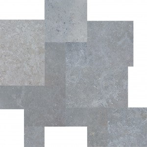 Interceramic Blue Lagos Blend Limestone
