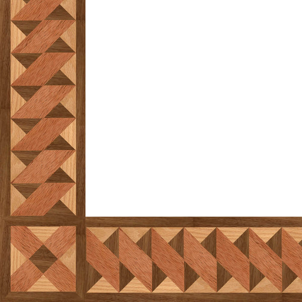 Oshkosh Designs Kingscote Wood Border