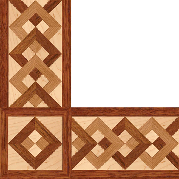 Oshkosh Designs Newport Harbor Wood Border