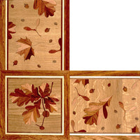 Oshkosh Designs Oak Leaf Wood Border