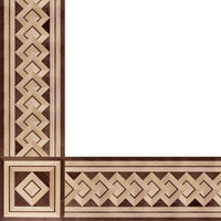 Oshkosh Designs Palazzo Wood Border