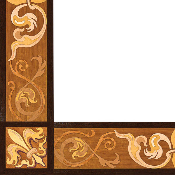 Oshkosh Designs Sophistication Wood Border