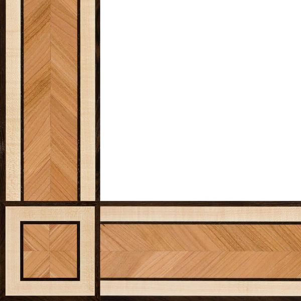 Oshkosh Designs Totowa Wood Border