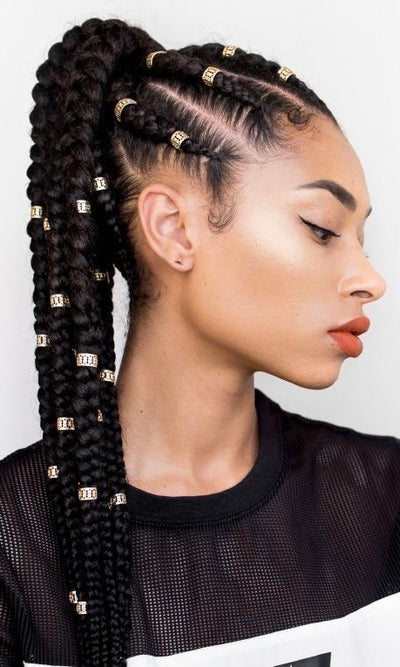 Feed-in Ponytail by Shanel