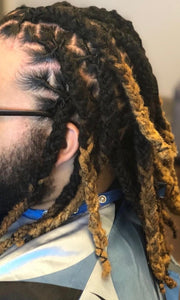 Interlock Dreadlocks by Shanel
