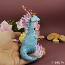 Load image into Gallery viewer, Sakura Dragon in Polymer Clay - The Folky Fox