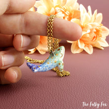 Load image into Gallery viewer, Whale Necklace in Ceramic - The Folky Fox