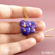 Load image into Gallery viewer, Galaxy Koala Necklace in Polymer Clay - The Folky Fox