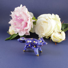 Load image into Gallery viewer, Galaxy Fox Figurine in Ceramic - The Folky Fox