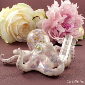 Crystal Octopus in Ceramic - The Folky Fox