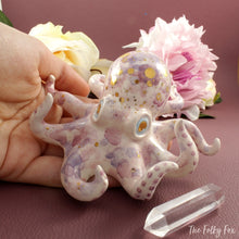 Load image into Gallery viewer, Crystal Octopus in Ceramic - The Folky Fox