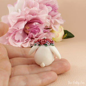 Bunny Sculpture in Polymer Clay 2 - The Folky Fox