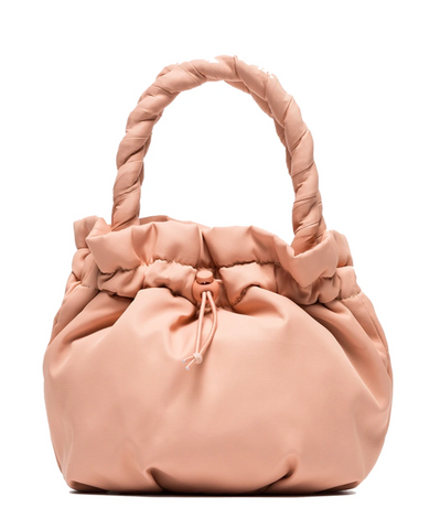 staud pink puff padded bag rent