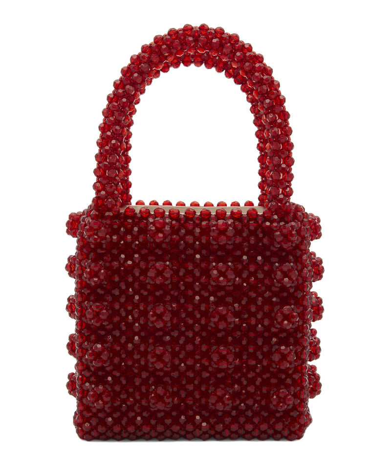 Rent Shrimps Red Beaded Bag from Rotaro