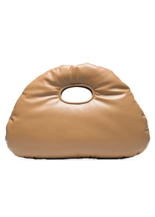 Rent Awake Mode Tan Padded Small Tote Bag from Rotaro