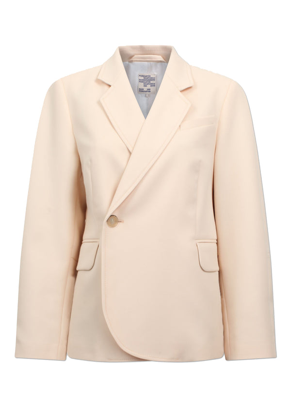 Rent Baum Und Pferdgarten Cream Single Button Blazer from Rotaro