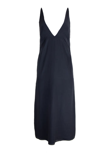 Rent RAEY Black Silk Crepe Slip Dress from Rotaro